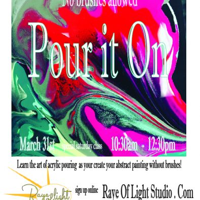 Pour it On March-01